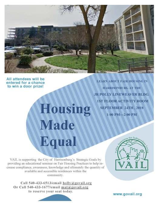 CDBG Flyers - Housing Made Equal Lineweaver